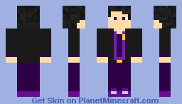 My Fanmade William Afton Skin ( What I want to look him ) Minecraft Skin