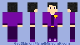 My Fanmade William Afton skin without Jacket ( What I want to look him ) Minecraft Skin