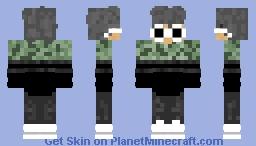 camo jacket guy Minecraft Skin