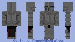 Full plated Knight Minecraft Skin