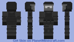 """[REMAKE] SCP MTF Stigma-9 """"Evolved from Naturally Occurring Gears, Levers and Pulleys"""" Minecraft Skin"""