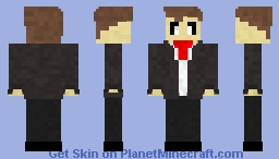 Tuxedo Ghost Minecraft Skin