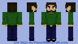 Oh? a human form, how limiting it is at times Minecraft Skin