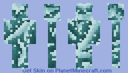 Water Splash Minecraft Skin