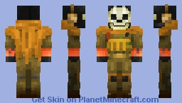 Ghost - Modern Warfare (REMASTERED) Minecraft Skin