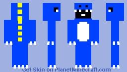 Dinosaur Boy Minecraft Skin