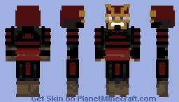 Shogun/Samurai Minecraft Skin