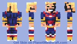 All Might ~ Symbol of Peace Minecraft Skin