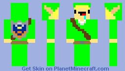 Derp Link Minecraft Skin
