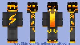 Raijin The Lightning God Minecraft Skin
