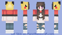 Pikachu YuYu Minecraft Skin