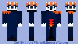 Aquarius, Lord of Tempest Minecraft Skin