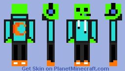 CubeOSlime update Minecraft Skin