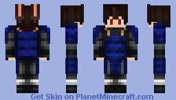 Sharingan Ruro Minecraft Skin