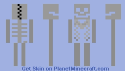 Skeleton Minecraft Skin