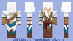 Connor Kenway (Assasin's Creed III) Minecraft Skin