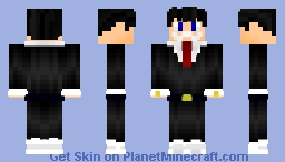 Wolf of Wall Street Skin (Guy in a Suit) Minecraft Skin