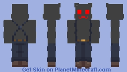 Shadow Meowscles Minecraft Skin