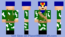 soviet spetsnaz 4 Minecraft Skin