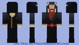 Charlie The Necromancer Minecraft Skin
