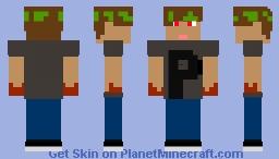 Bandeau vert Minecraft Skin