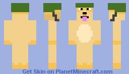 Doge With Hat Minecraft Skin
