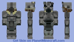 T-45 Power Armour   Fallout   1.8+ Minecraft Skin