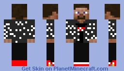 drip steve Minecraft Skin