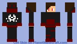 Loomian legacy - Duskit Trainer (Boy) Minecraft Skin