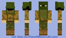 russian spetsnaz Minecraft Skin