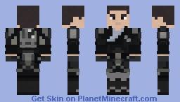 Galen Marek   TFU   Tie Pilot Outfit   1.8+ Minecraft Skin