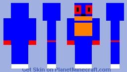 Sonic The Hedgehog [RCS] Minecraft Skin