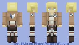 Armin Arlert   Attack On Titan Minecraft Skin