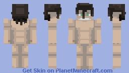 Attack Titan/Eren Jaeger | Attack On Titan Minecraft Skin