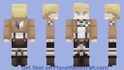 Erwin Smith | Attack On Titan Minecraft Skin