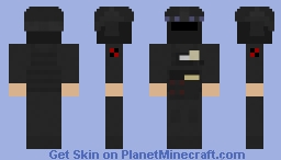 "SCP MTF Alpha-1 ""Red Right Hand"" Minecraft Skin"