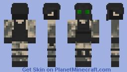 [REMAKE] SCP Chaos Insurgent Minecraft Skin