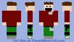 myself but more better Minecraft Skin