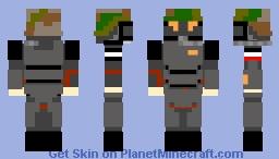 Prussian Mechanized Shocktrooper 2121 Minecraft Skin