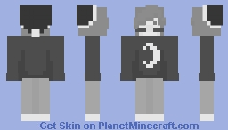 Let The Moon be Your Bed Minecraft Skin