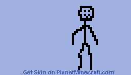 stickman Minecraft Skin