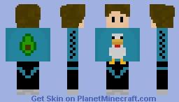 mnr_jhon standard skin Minecraft Skin