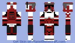 Commander Fox Minecraft Skin
