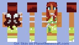 Aisha / Layla Winx Club Minecraft Skin