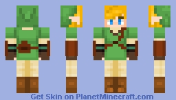 Link (idk what version they all look the same) Minecraft Skin