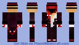 Gentleman with ketchup on him Minecraft Skin