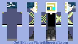 Vex infected Saint Minecraft Skin