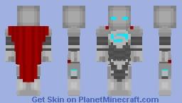 Steel | DC Comics Minecraft Skin