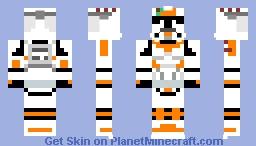Clone Trooper Waxer Minecraft Skin