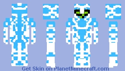 Ampfibian - Ben 10 Omniverse Minecraft Skin